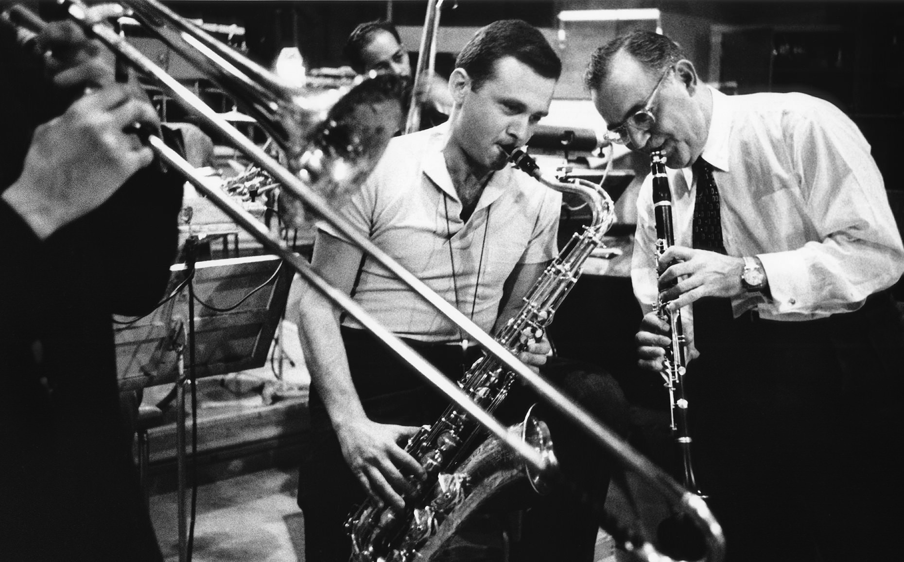 Бенни Гудмен и Стэн Гетз Benny Goodman Stan Getz JazzPeople