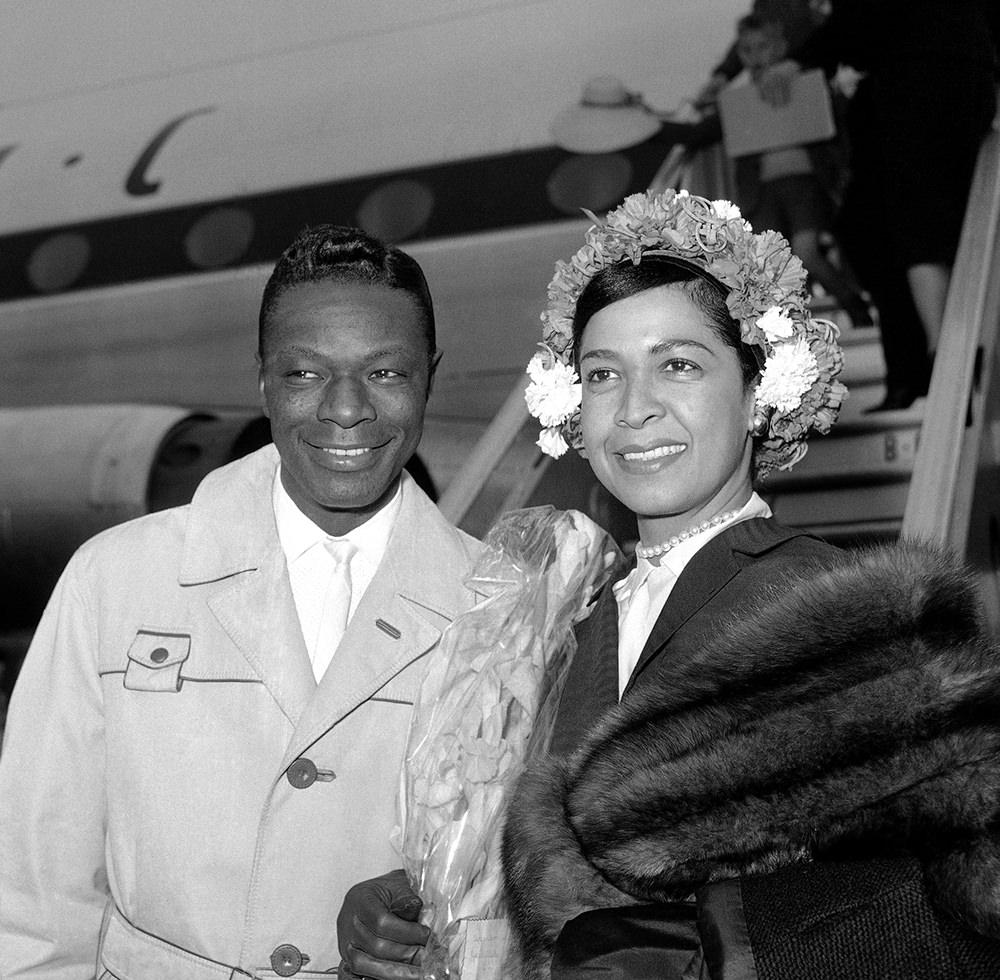 Nat King Cole & Maria Cole Нэт Кинг Коул и Мария Коул JazzPeople