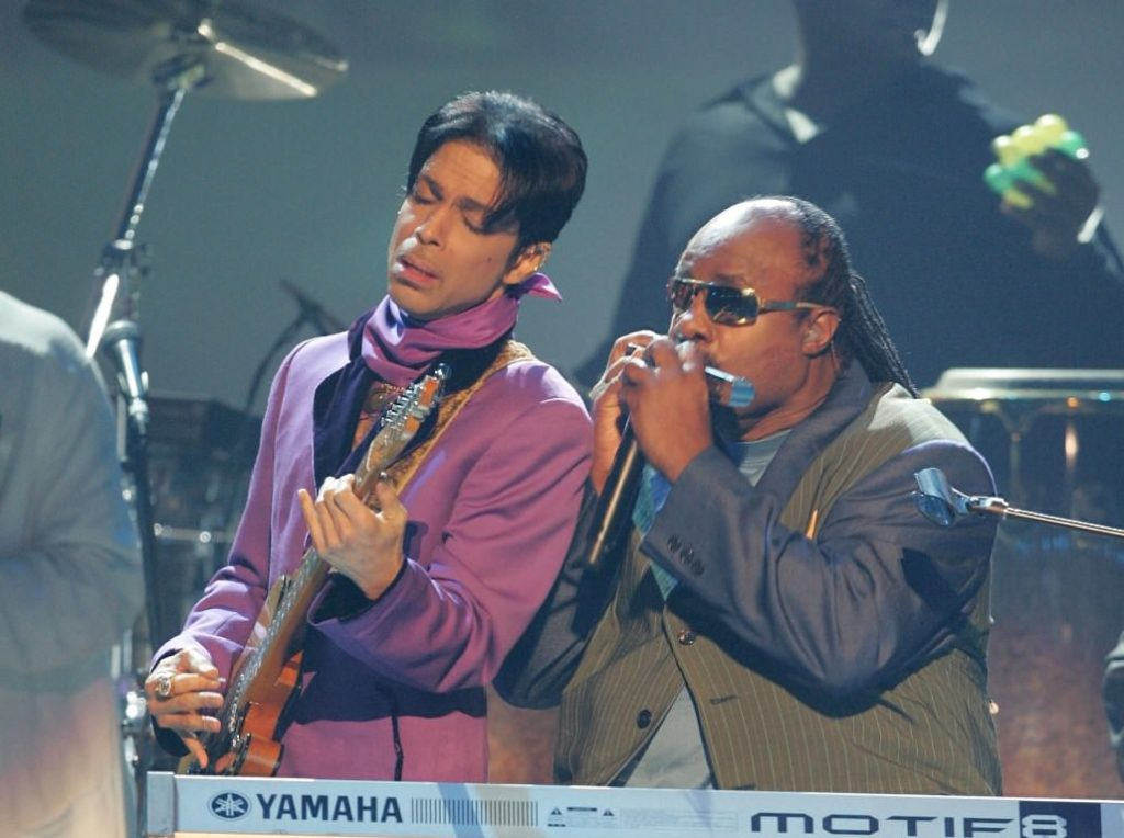 Prince Принс и Стиви Уандер Stevie Wonder JazzPeople