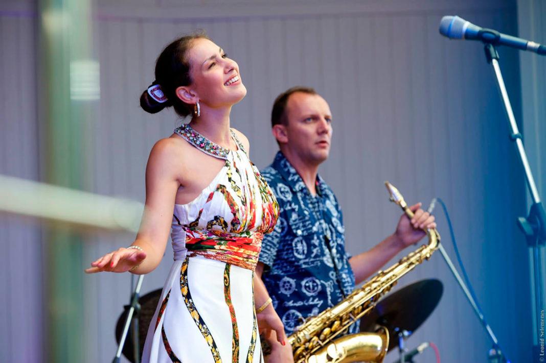 «Джаз на крыше»: Анна Клесун и ансамбль Esh