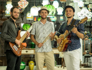 Бразильский джаз Рио-де-Жанейро в исполнении трио Джоандера Сантоса (Joander Santos trio)