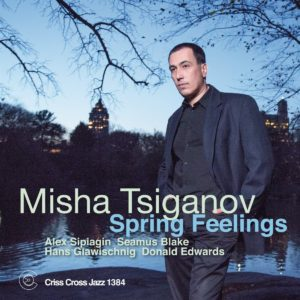 Новый альбом Миши Цыганова Spring Feelings