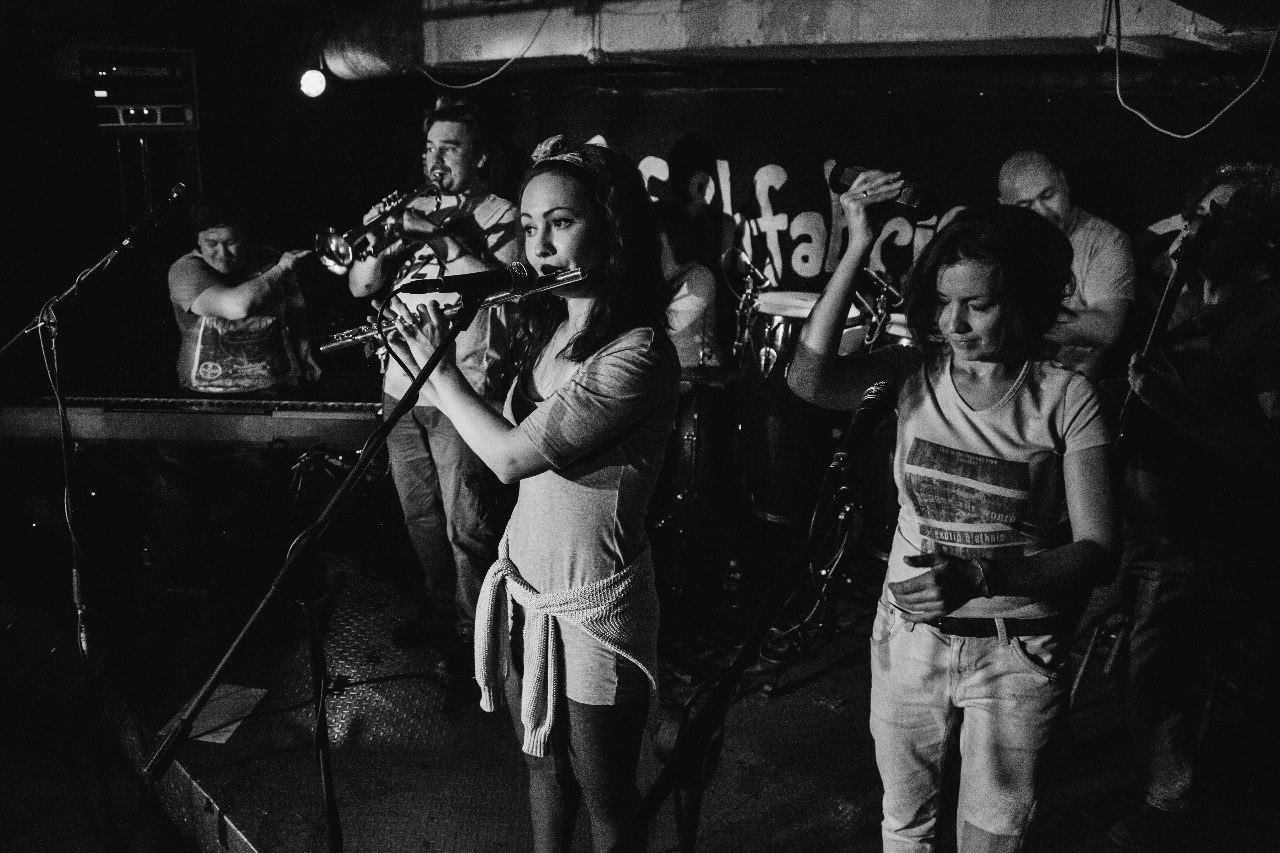 Группа Dizzy Jazz в Биржа баре
