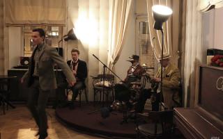 танцор Альберт Тенигин салонный джаз в Петербурге