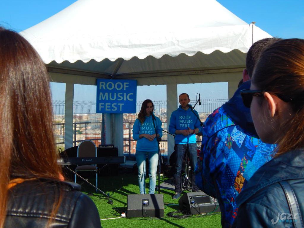 Roof Music Fest: джаз в июле