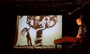 Концерт «Музыка на песке» Джаз и песочная анимация