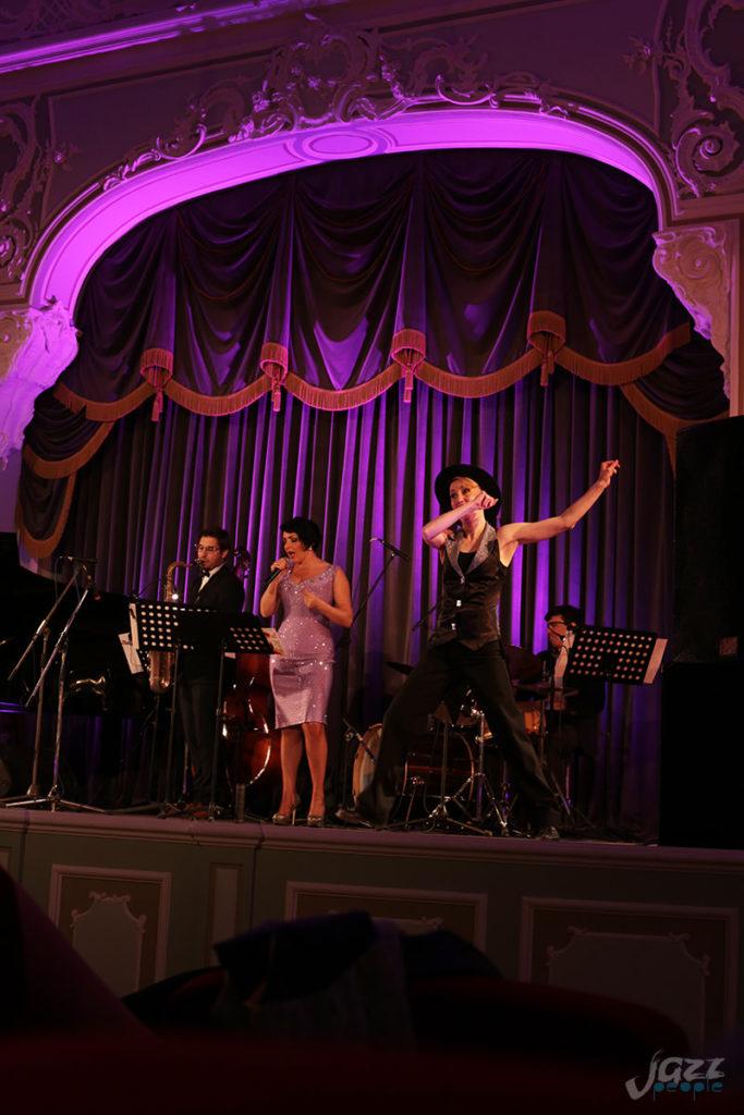 Петербургские вечера джаза - танцоры Crystal, Яна Радион, Real Jazz Quartet