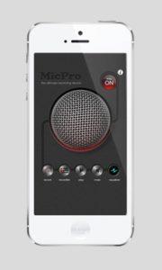 Microphone Pro - 5 мобильных приложений для музыкантов по версии JazzPeople