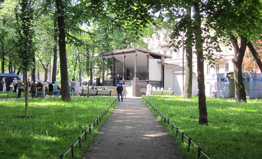 Джаз под небом Петербурга - концерты